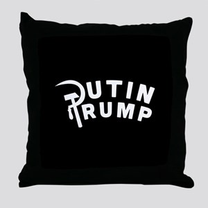 Putin Trump Throw Pillow