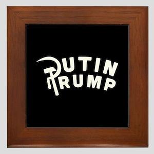 Putin Trump Framed Tile