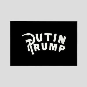 Putin Trump Rectangle Magnet