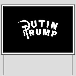 Putin Trump Yard Sign