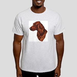 smittyts.com Irish setter Ash Grey T-Shirt