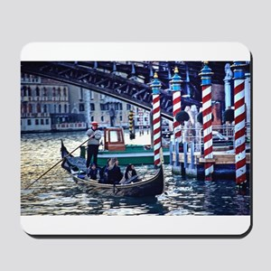 Gondola on Grand Canal in Ven Mousepad