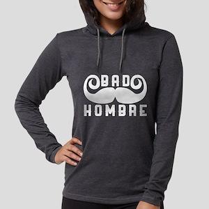 Bad Hombre Womens Hooded Shirt