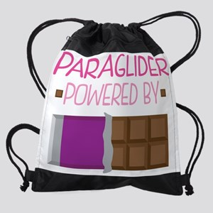 Paraglider Funny Quote Drawstring Bag