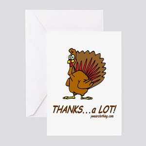 Thanks a Lot Greeting Cards (Pk of 10)