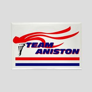 Team Aniston Rectangle Magnet