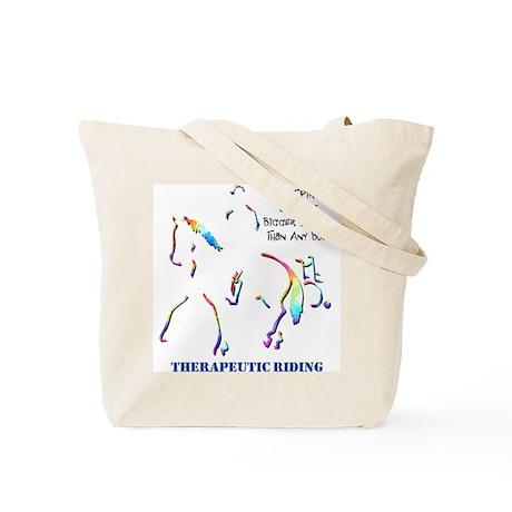 Therapeutic Riding Tote Bag