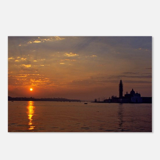 Sunrise in Venice Postcards (Package of 8)