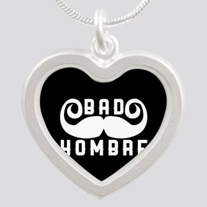 Bad Hombre Silver Heart Necklace