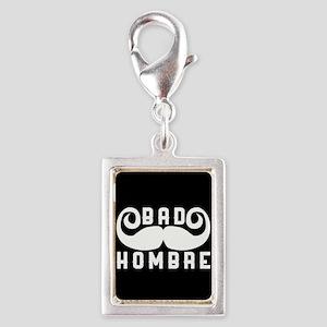 Bad Hombre Silver Portrait Charm