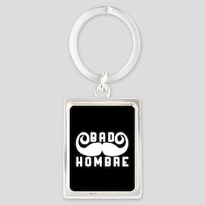 Bad Hombre Portrait Keychain