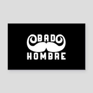 Bad Hombre Rectangle Car Magnet