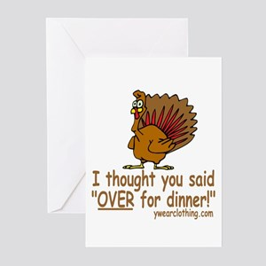 Thanksgiving Dinner Greeting Cards (Pk of 10)