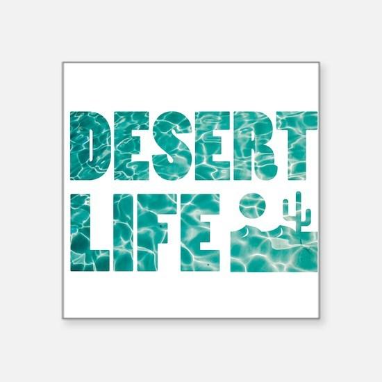desert life Sticker