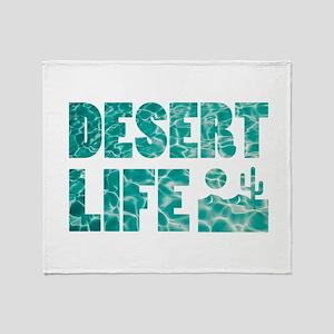 desert life Throw Blanket