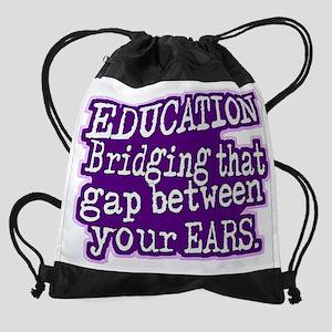 Teacher Appreciation Humor Drawstring Bag