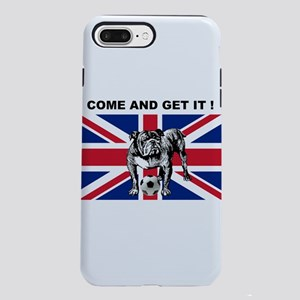 British Football Bulldog iPhone 7 Plus Tough Case