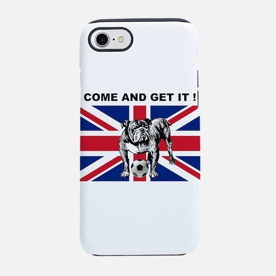British Football Bulldog iPhone 7 Tough Case