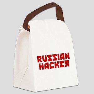 Russian Hacker Canvas Lunch Bag
