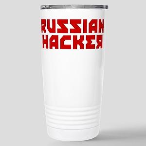 Russian Hacker 16 oz Stainless Steel Travel Mug