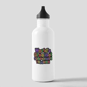 Worlds Greatest CORPORATE TRAINER Water Bottle