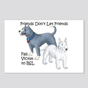 Friends Don't Let Friends Fal Postcards (Package o
