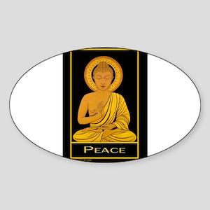 Peace Rectangle Sticker Susan Allen Art Sticker