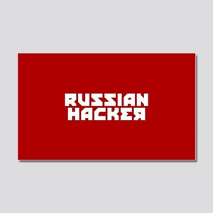 Russian Hacker Car Magnet 20 x 12