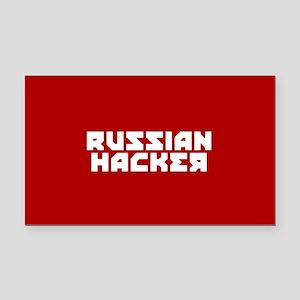 Russian Hacker Rectangle Car Magnet