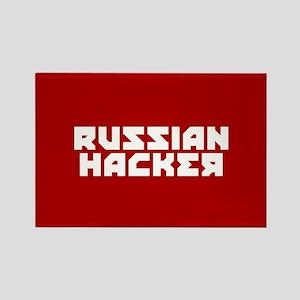 Russian Hacker Rectangle Magnet