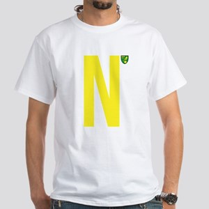 Norwich City Canaries White T-Shirt
