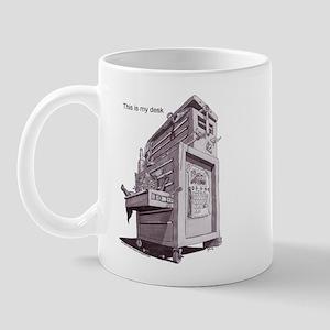 this is my desk Mug
