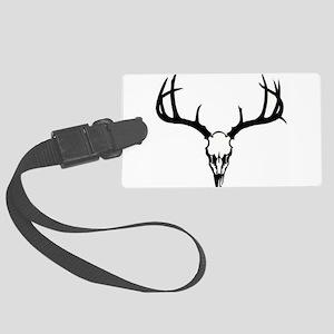 Deer Head Luggage Tag