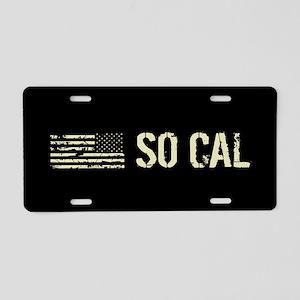 Black Flag: So Cal Aluminum License Plate