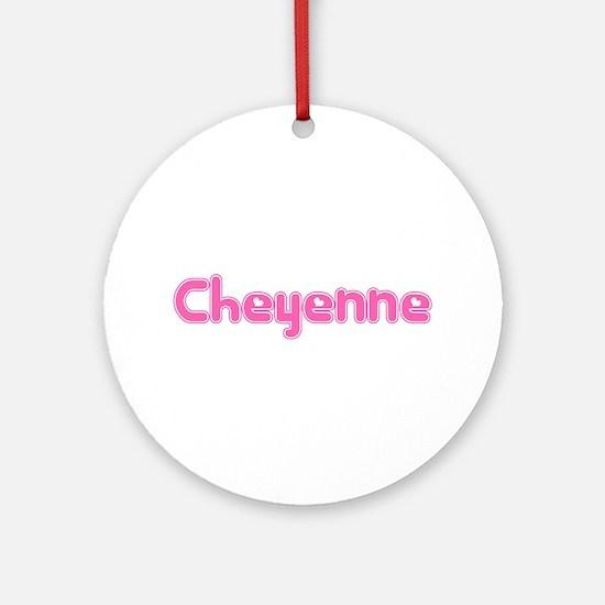 """""""Cheyenne"""" Ornament (Round)"""