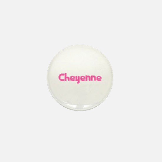 """Cheyenne"" Mini Button"