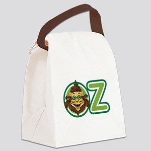 Vintage Wizard of Oz Lion Canvas Lunch Bag