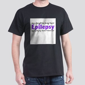 My daughter may have epilepsy Dark T-Shirt