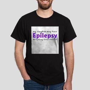 My daughter may have epilepsy Dark T-Shirt