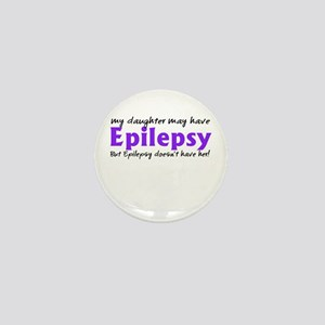 My daughter may have epilepsy Mini Button