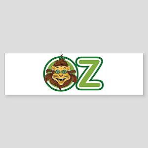 Vintage Wizard of Oz Lion Bumper Sticker