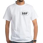 SBF - Single Black Female White T-Shirt