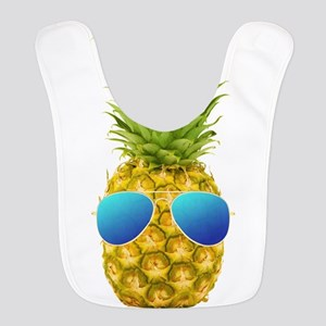 Cool Pineapple Polyester Baby Bib