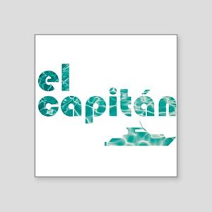 el capitán Sticker