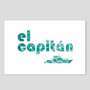 el capitán Postcards (Package of 8)