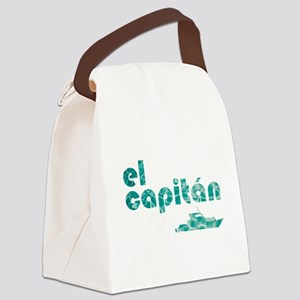 el capitán Canvas Lunch Bag