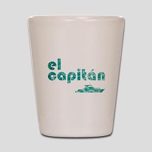 el capitán Shot Glass