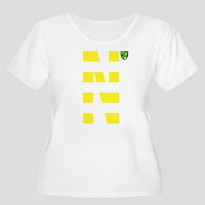 Norwich City Women's Plus Size Scoop Neck T-Shirt
