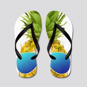 Cool Pineapple Flip Flops