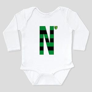 Norwich City Stripes G Long Sleeve Infant Bodysuit